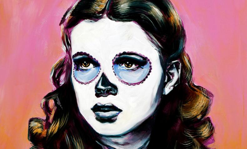 SOLD. Dorothy, Dia de Los Muertos