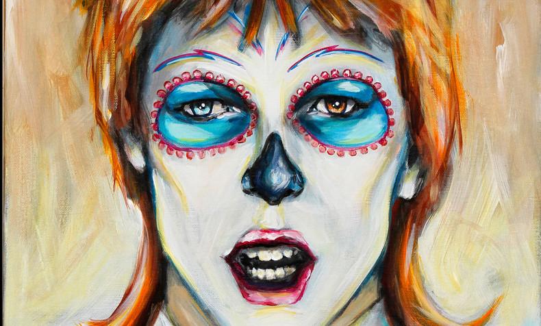 David Bowie, Dia de Los Muertos