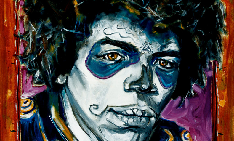 Jimi Hendrix, Dia de Los Muertos