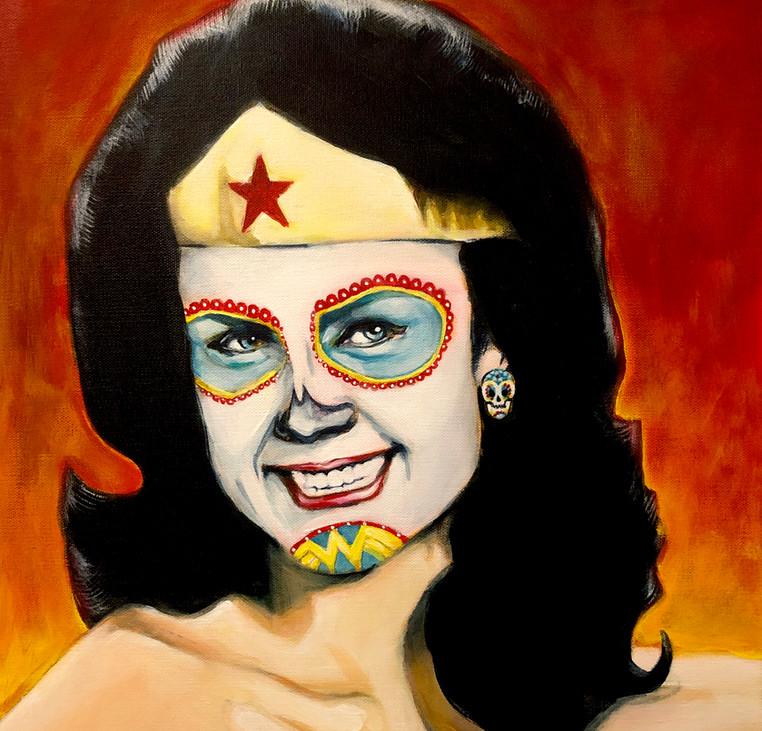 Wonder Woman, Dia de Los Muertos