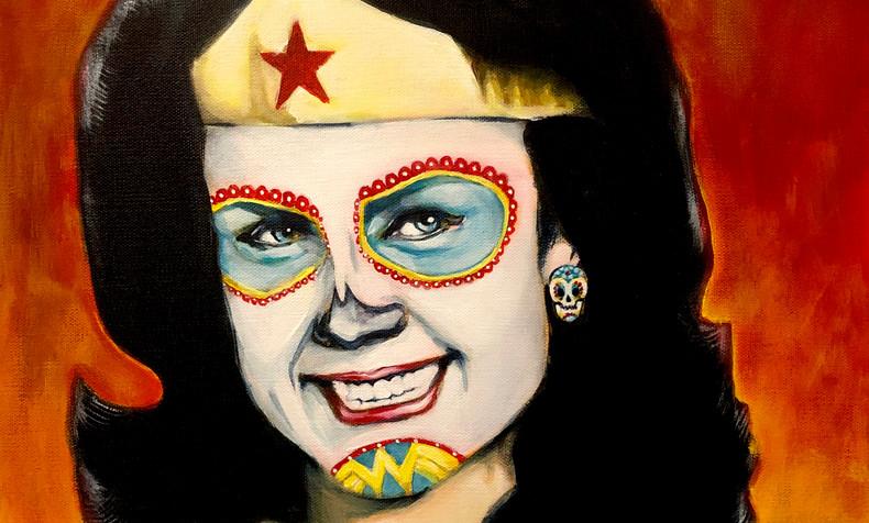 SOLD Lynda Carter, Dia De Los Muertos
