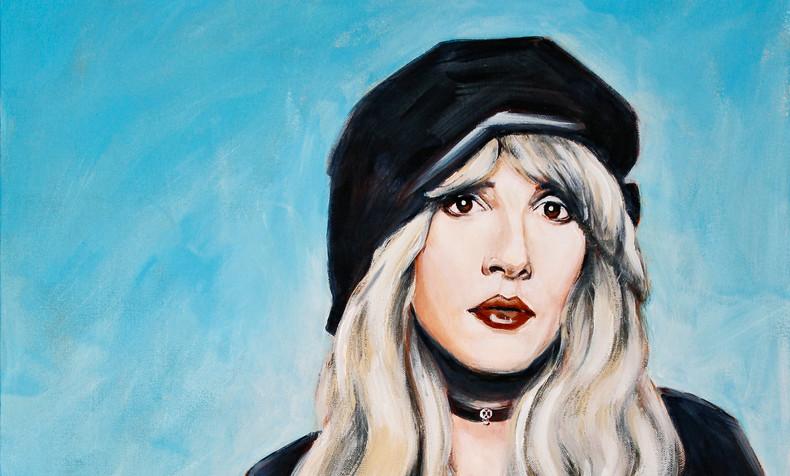 SOLD Stevie Nicks with Sugar Skull