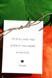 We adore clever favors...