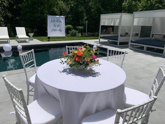 Tuscany Inspired Bridal Shower
