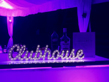 "Custom ""Clubhouse"" sign is just another word for ""PARTY!"""
