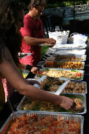 We work hard to find the perfect caterer for your event!  Authentic Thai cuisine.