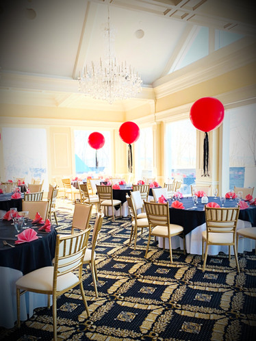 Who knew balloons could be sophisticated?  We did!