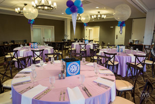 Let our graphic designer create a fantastic custom logo for your event!