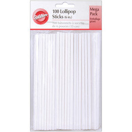"Wilton 6"" Lollipop Sticks (100ct)"