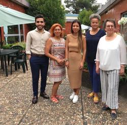 2019 Bewerbertage in Porto mit Pflegedirektorin Frau Haunfelder