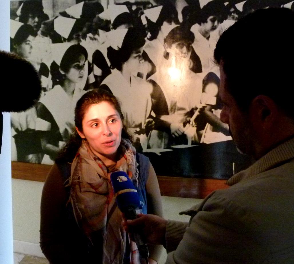 2013 TV Interview im Anschluss des Vortrags auf den Azoren