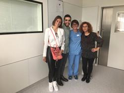 2019 - Ana Teresa und Fábio besuchen Isabel, port. Krankenschwester, arbeitet auf Intensiv