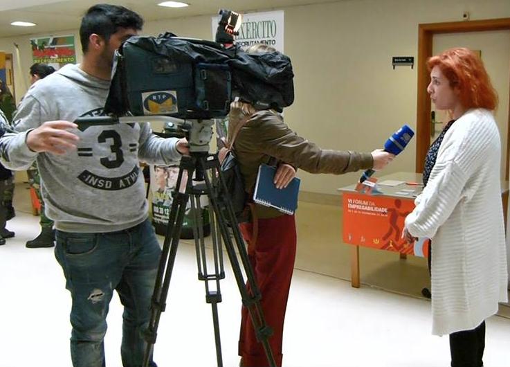 2018 TV-Interview im Anschluss von Bewerbertagen auf Madeira