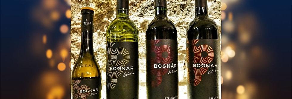 Bognár Selection 3x0,75l + 1x0,35l üveg
