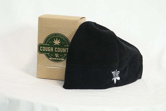 Cough Country Fleece Beanie- Black