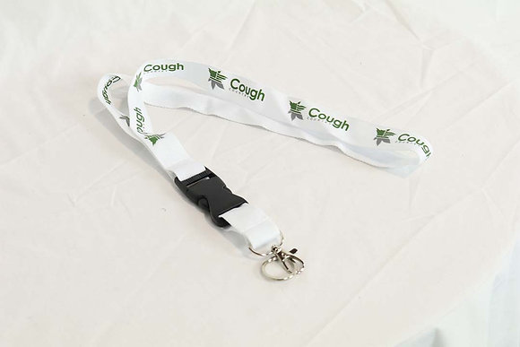 Cough Country Lanyard- White