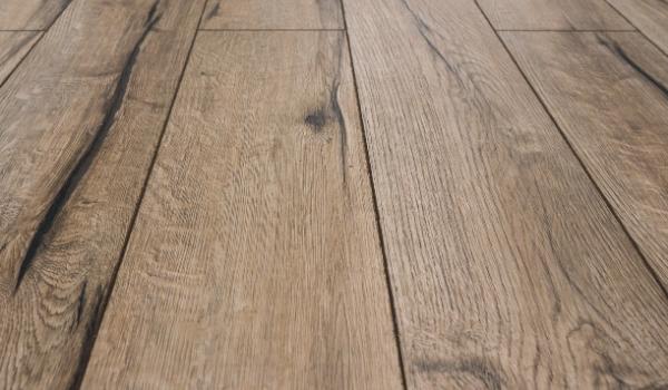 vinyl hard wood flooring close up