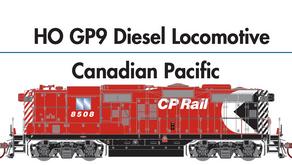 Genesis HO GP9 Diesel Locomotive