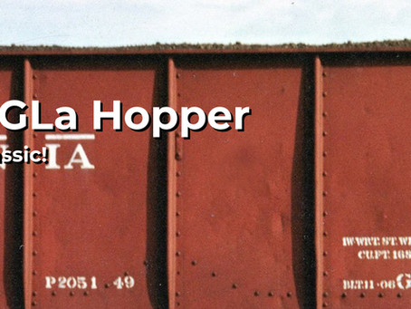 Rapido Trains HO Scale GLa Hopper