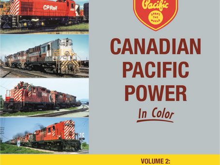 Book: Canadian Pacific Power Volume 2: First Generation Roadswitchers