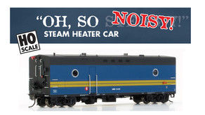 Rapido Trains Steam Generator Car 2nd Run