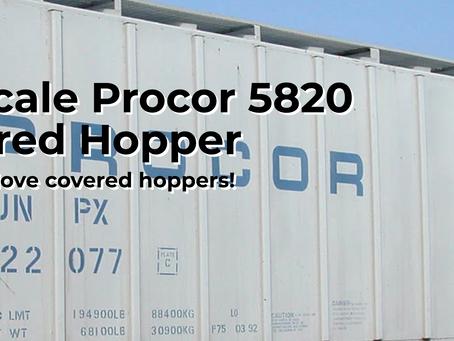 Rapido HO scale Procor 5820 Covered Hopper