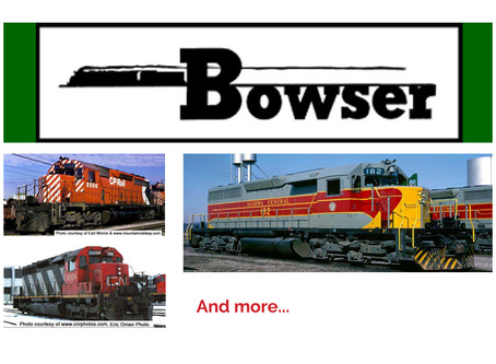BOWSER HO Scale SD40