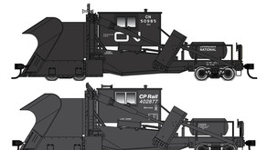 Walthers Canadian National and CP Rail Jordan Spreader