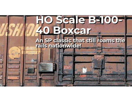 Rapido Trains HO Scale B-100-40 Boxcars