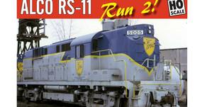 RAPIDO TRAINS ALCO RS 11 2nd run