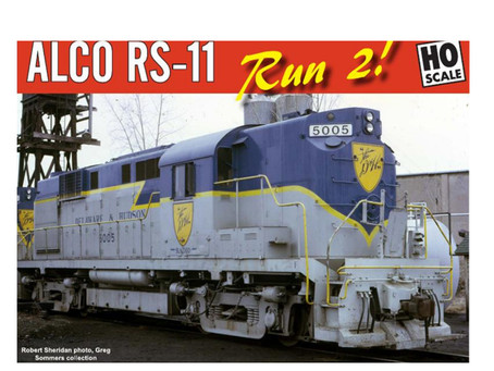 RAPIDO TRAINS ALCO RS 11 2nd run