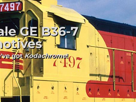 Rapido Trains HO scale GE B36-7 Locomotive - Second Run