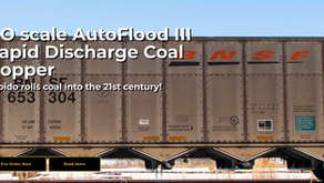 Rapido Trains HO Scale AutoFlood III Rapid Discharge Coal Hopper