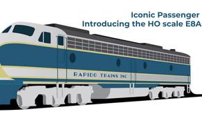 Rapido Trains HO Scale EMD E8A & E8B