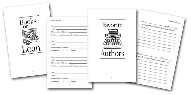 Book Lover's Book Webpage bottom image c