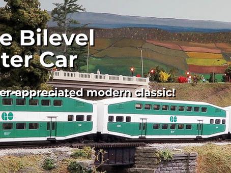 Rapido Trains HO Scale Bilevel Commuter Car