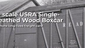Rapido Trains HO Scale USRA Single-Sheathed Wood Boxcar