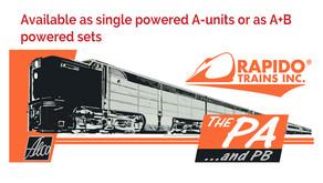 Rapido Trains ALCO PA 1