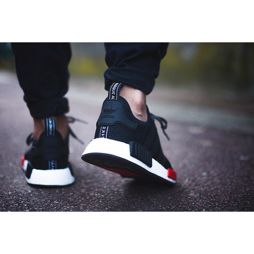 Adidas NMD R1 Footlocker Exclusive (Black Red White)