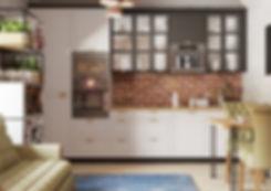 Кухня в стиле лофт, дизайн интерьера кухни