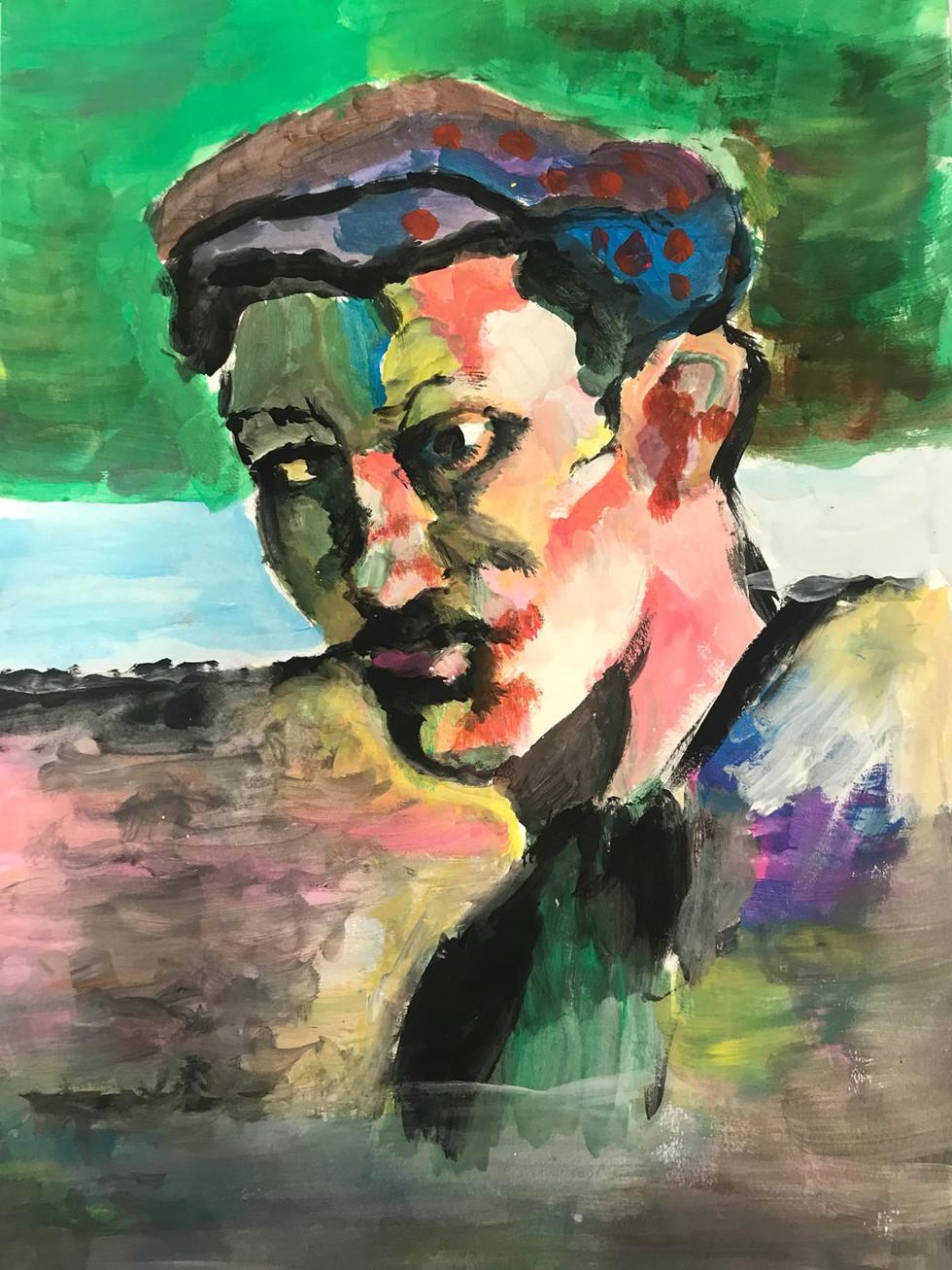 Pintura Derain, por Vasco Maia e Moura