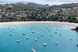 01 aerial view of Waiheke Island with sa