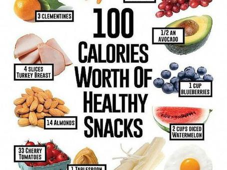 Healthy snacks...