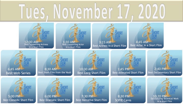2020 TSFA SOFIE Awards Nov 17 Schedule.j