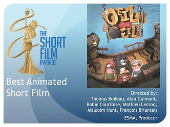 2020 124 TSFA SOFIE Awards Best Animated