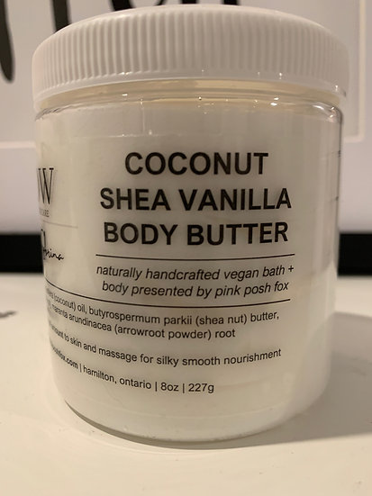 Coconut Shea Vanilla Body Butter