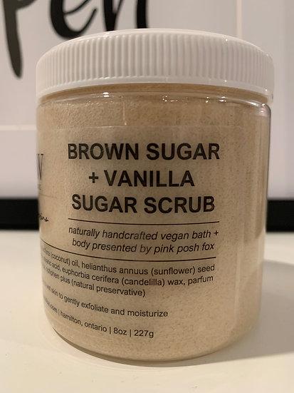 Brown Sugar+ Vannila Sugar Scrub