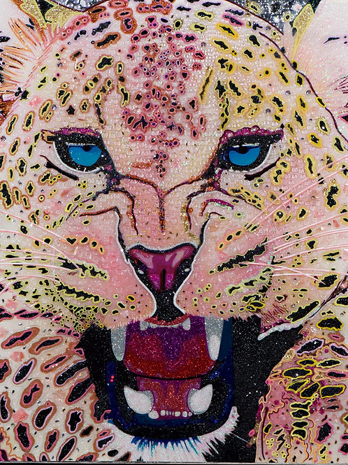 (SOLD) Leopard (Fierce Creature Series)