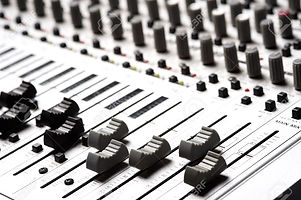 4725814-Audio-recording-equipment-or-soundboard-background-with-many-knobs-and-adjustments-board-is-