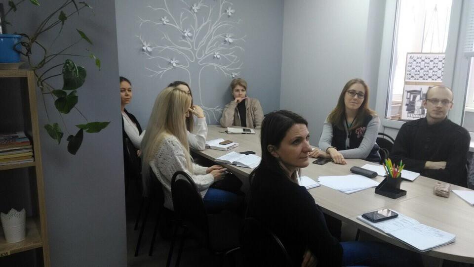 """Преподаватели """"Парадигмы"""" на семинаре"""
